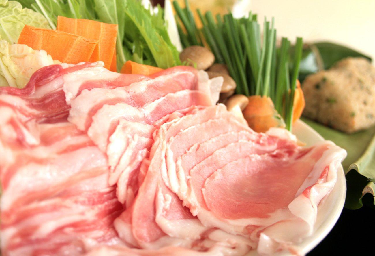 栄養価の高いイノブタ肉