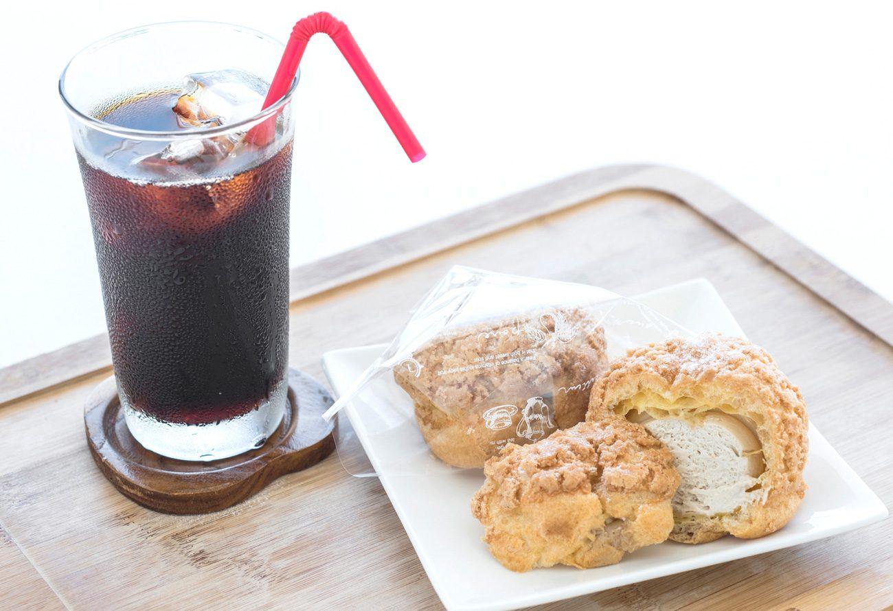 ブレンドコーヒーシュークリーム